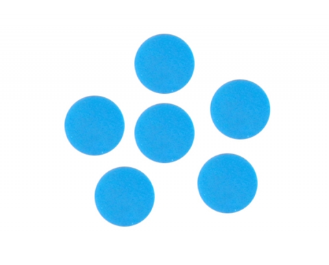 蓝色硅胶垫片